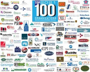 MBG named to list of Top 100 Businesses in Central Pennsylvania